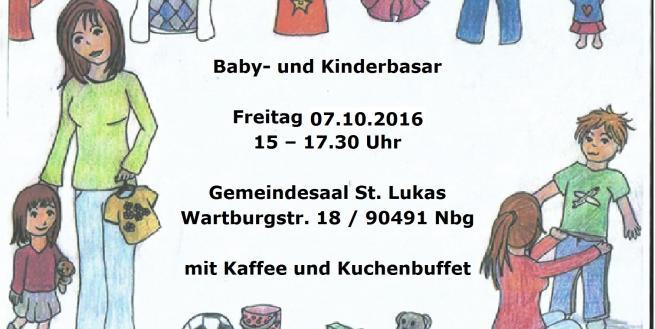 Baby - und Kinderbasar in St. Lukas