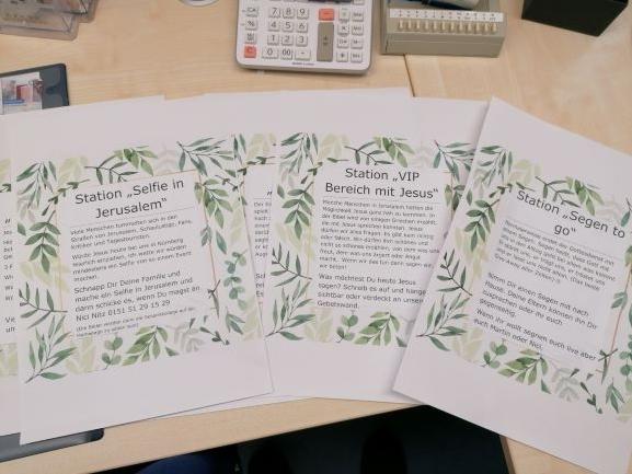 Rückblick: Familiengottesdienst an Palmsonntag